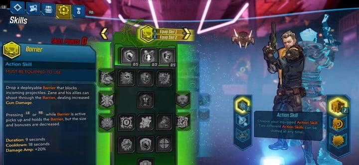 Borderlands 3 gameplay révéler mondes co-op armes