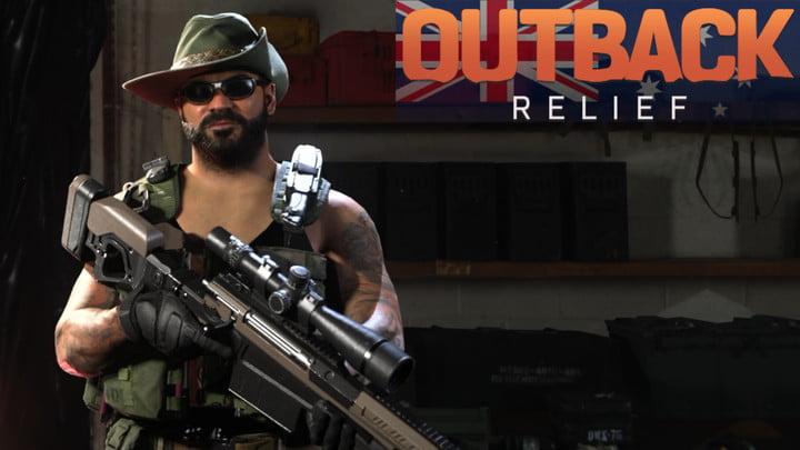 Call of Duty Outback Relief charity pack