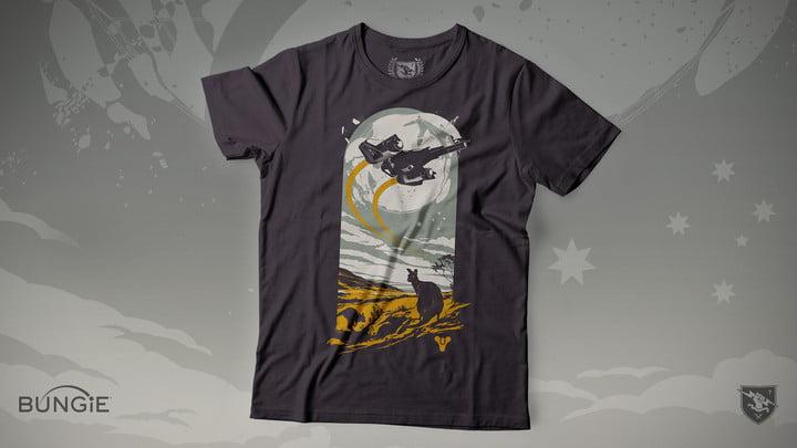 T-shirt de charité Destiny 2 Australie