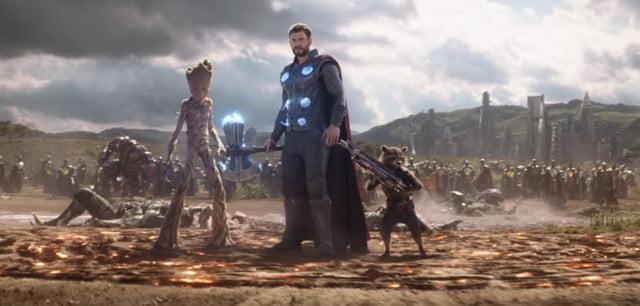 Fortnite Avengers Endgame événement croisé Thor stormbreaker