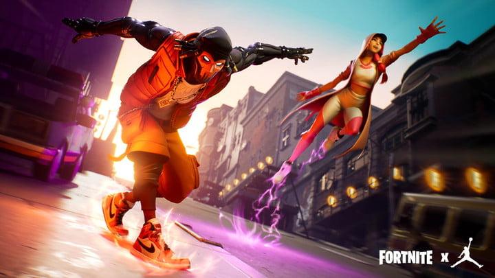 Fortnite Nike Jumpman Downtown Drop LTM mise à jour Jordan