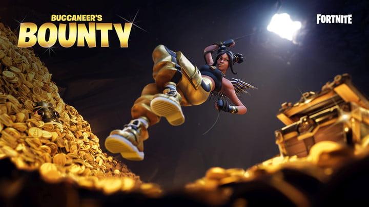 Fortnite v8.30 patch update buccaneer bounty ltm limited time mode rewards