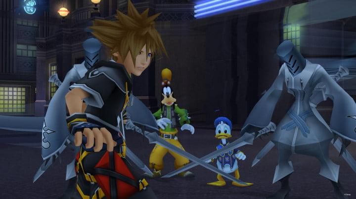 Capture d'écran de Kingdom Hearts 2.5 25