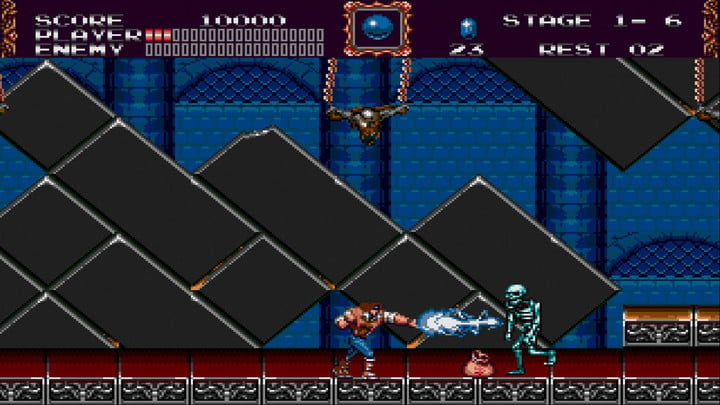 Konami Castlevania Anniversary Collection Bloodlines (en anglais)