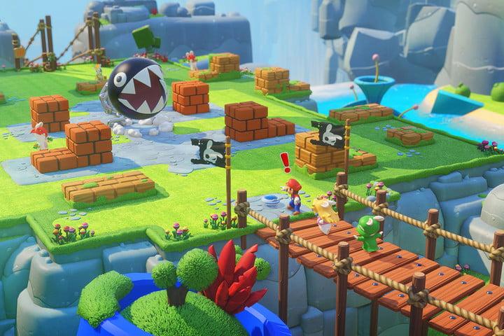 Offres sur Nintendo Switch - Mario + Lapins Crétins Kingdom Battle