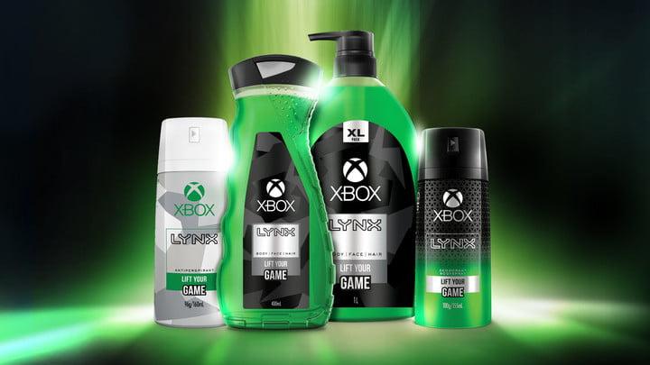 Microsoft Xbox Lynx gel douche gel corps spray déodorant Australie nouvelle zélande