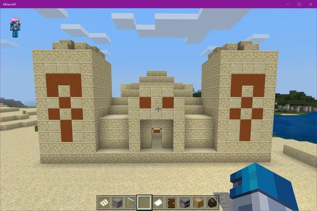 Temple du désert de Minecraft