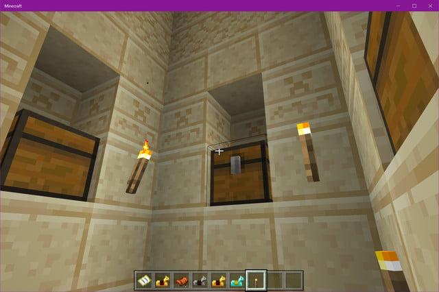 Coffres du Temple du Désert de Minecraft