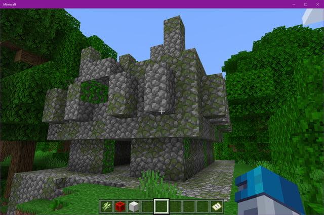 Temple de la jungle de Minecraft