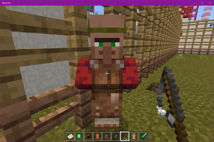 Minecraft Travailleur du cuir Villager