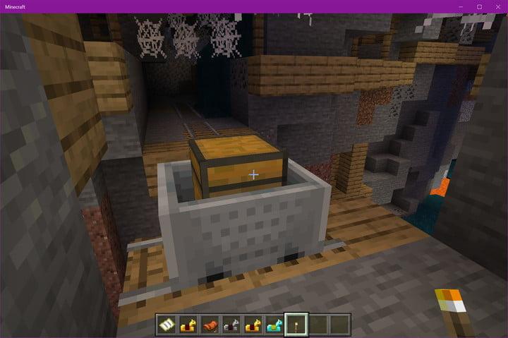 Coffre de puits de mine Minecraft