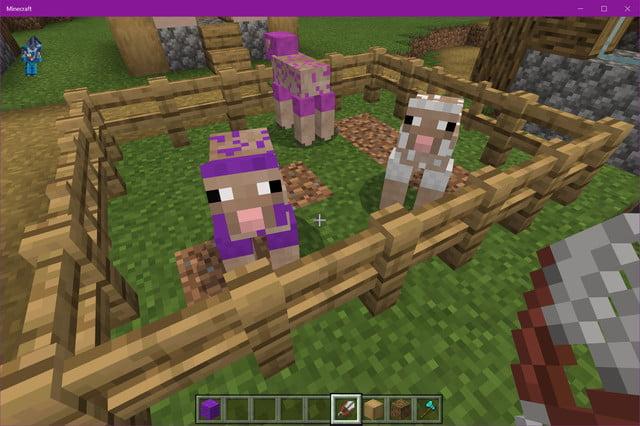 comment faire un lit dans minecraft mouton nu
