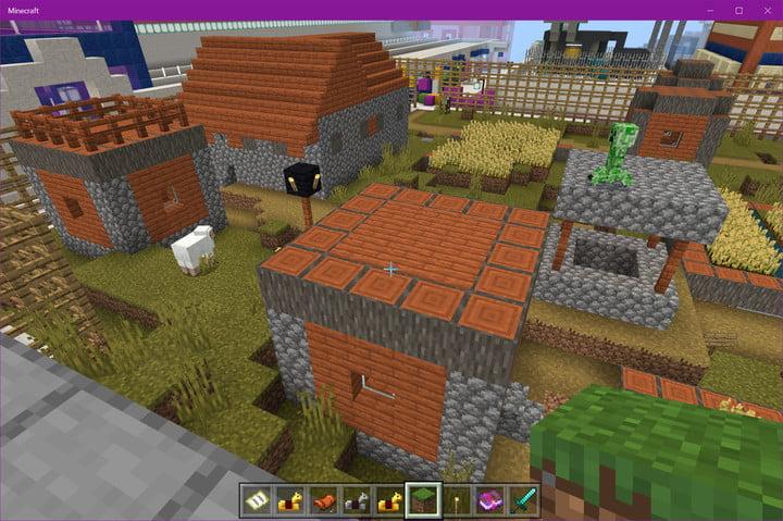 Minecraft Savanna Village
