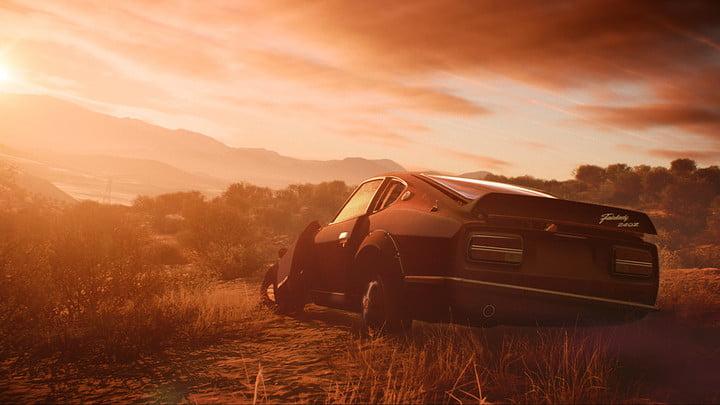 Need for Speed Payback : critique du coucher du soleil