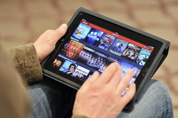 Lancement de Netflix au Royaume-Uni sur iPad en 2012