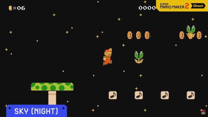 Super Mario Maker 2 Nintendo Direct multijoueur mode histoire cours monde en ligne