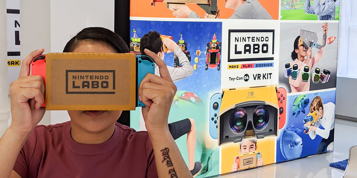 nintendo labo vr kit review hands on feat