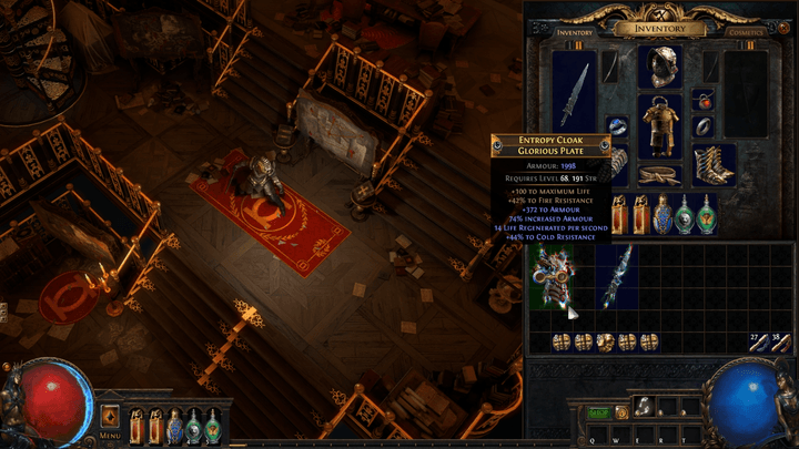 path of exile synthesis fractureditem