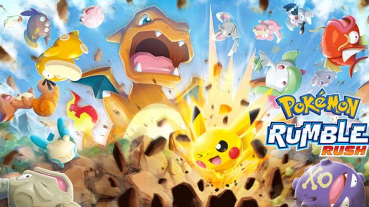 Pokemon Rumble Rush jeu mobile android ios