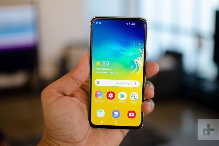 Samsung Galaxy s10e : prise en main