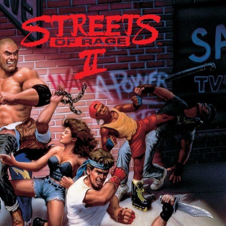 Streets of Rage sega genesis mega drive mini console