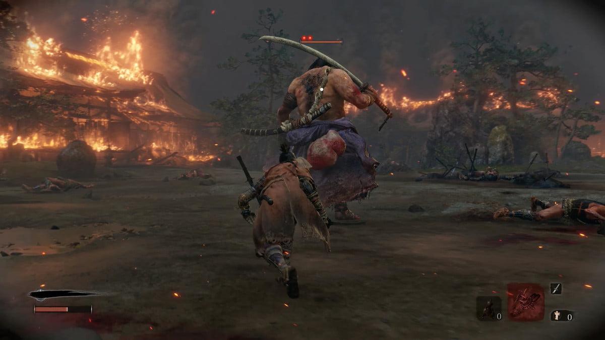 Faire oublier l'ivrogne | Comment battre Jouzou l'ivrogne dans Sekiro : Les ombres meurent deux fois.