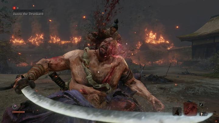Vous avez vaincu l'ivrogne. Comment battre Jouzou l'ivrogne dans Sekiro : Les ombres meurent deux fois.