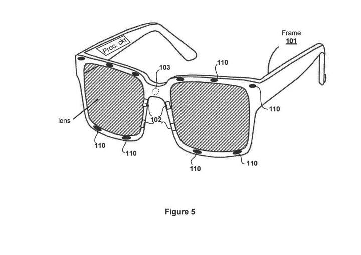 Sony brevet vr eye tracking lunettes de prescription PSVR playstation virtual reality