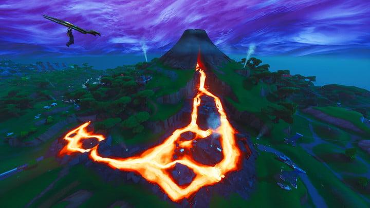 Le survol du volcan est aussi gratifiant que les 5 étoiles | fortnite week 3 challenges loupe fortnite