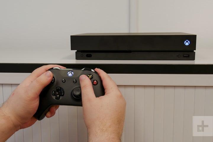 Xbox One X critique système de contrôle